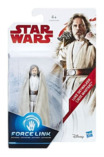 "THE LAST JEDI - LUKE SKYWALKER (JEDI MASTER) 3,75"" / FORCE LINK"
