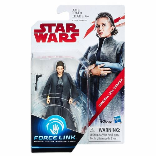 "THE LAST JEDI - GENERAL LEIA ORGANA 3,75"" / FORCE LINK"