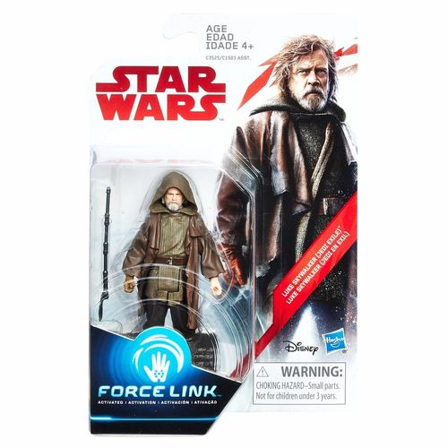 "THE LAST JEDI - LUKE SKYWALKER (JEDI EXILE) 3,75"" / FORCE LINK"