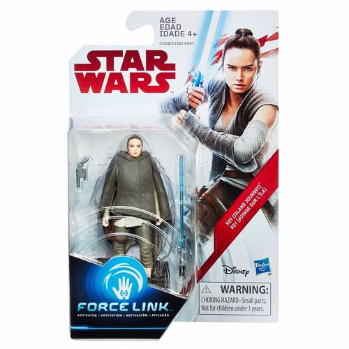 "THE LAST JEDI - REY (ISLAND JOURNEY) 3,75"" / FORCE LINK"