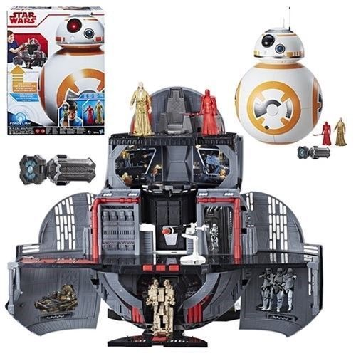 "THE LAST JEDI - BB-8 MEGA PLAYSET THRONE ROOM 3,75"" / FORCE LINK"