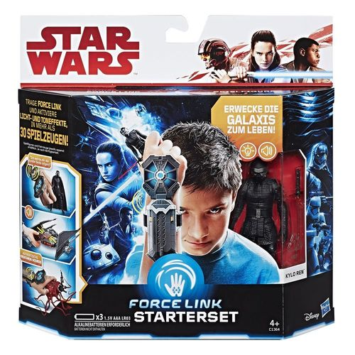 THE LAST JEDI - FORCE LINK STARTER-SET + KYLO REN 3,75""
