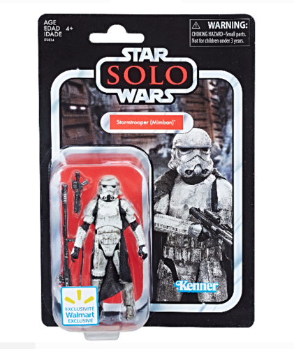 "THE VINTAGE COLLECTION - MIMBAN STORMTROOPER 3,75"" / WALMART EXCLUSIVE"