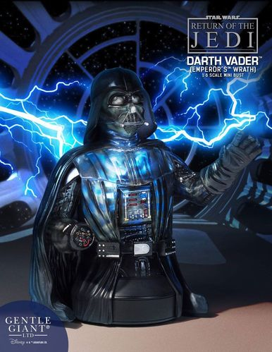 GENTLE GIANT DARTH VADER (EMPEROR WRATH) BÜSTE 1/6