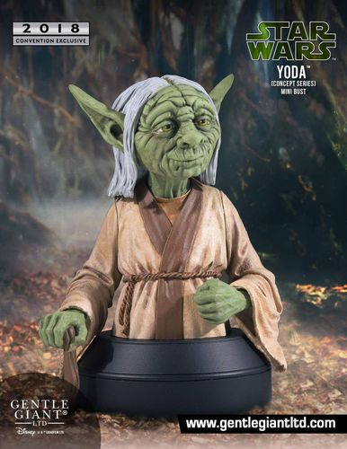 GENTLE GIANT YODA CONCEPT SERIES BÜSTE 1/6 / SDCC EXCLUSIVE