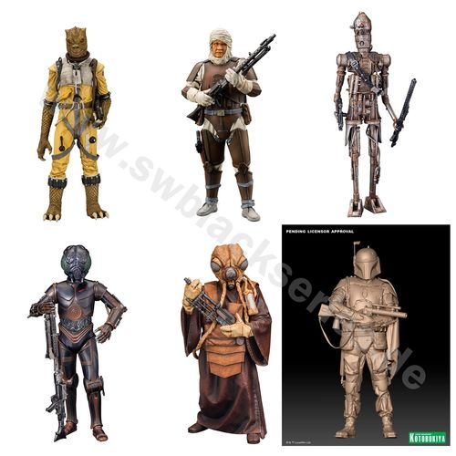 KOTOBUKIYA STAR WARS BOUNTY HUNTER 6-PACK / ERSPARNISPREIS