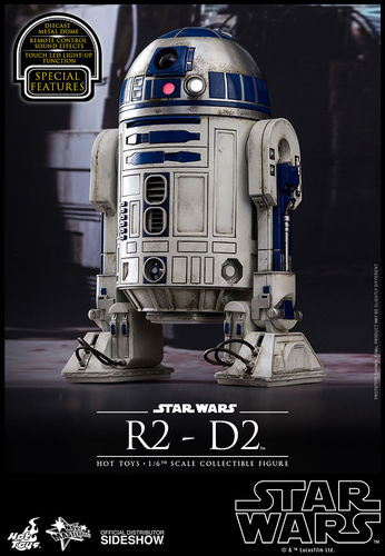HOT TOYS STAR WARS R2-D2 (TFA) 1/6 MMS408