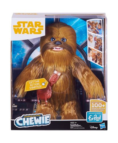 SOLO - A STAR WARS STORY - FURREAL ULTIMATE CO-PILOT CHEWIE