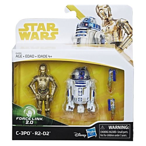 SOLO - A STAR WARS STORY - C-3PO & R2-D2 2-PACK / TRU EXCLUSIVE / FORCE LINK 2.0