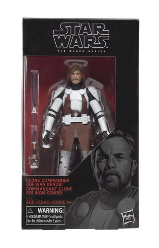 "OBI-WAN KENOBI (CLONE WARS) 6"" / WALGREENS EXCLUSIVE"