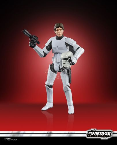 "THE VINTAGE COLLECTION - HAN SOLO (STORMTROOPER) 3,75"" / TARGET EXCLUSIVE"