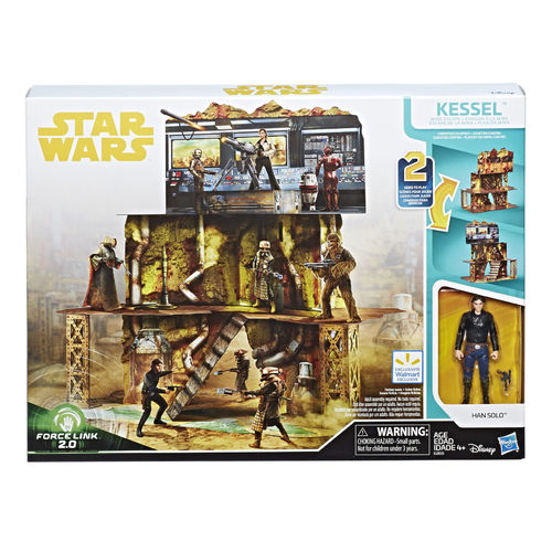 SOLO - A STAR WARS STORY -  KESSEL MINE ESCAPE PLAYSET / FORCE LINK 2.0 / WALMART EXCLUSIVE