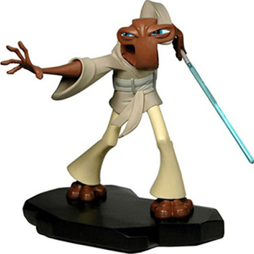 GENTLE GIANT RORON COROBB MAQUETTE (CLONE WARS ANIMATED) / 19 CM