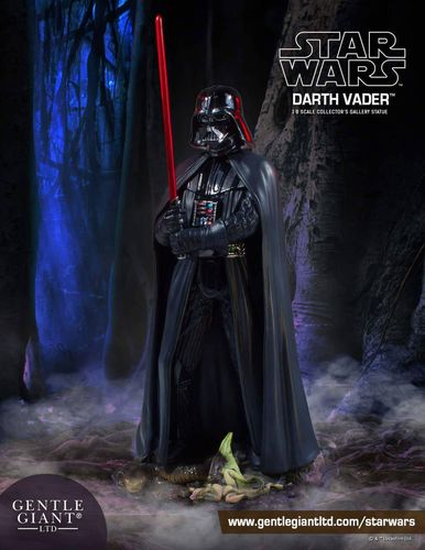 GENTLE GIANT COLLECTORS GALLERY - DARTH VADER 1/8