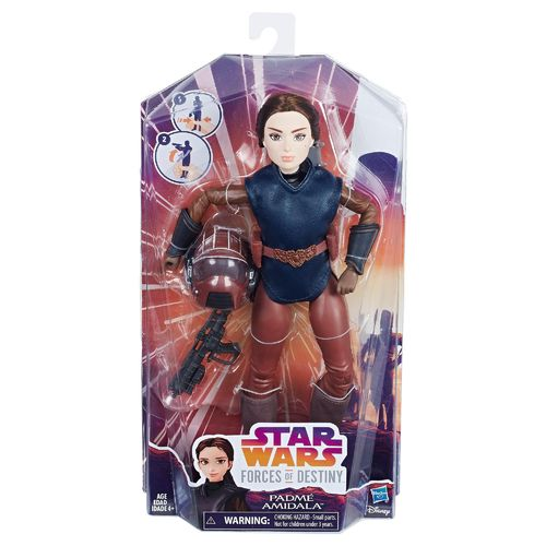STAR WARS FORCES OF DESTINY PADMÈ AMIDALA 11""