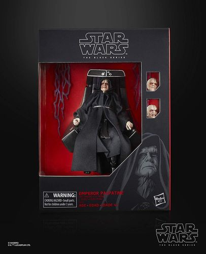 "EMPEROR PALPATINE WITH THRONE 6"" / ONLINE EXCLUSIVE"