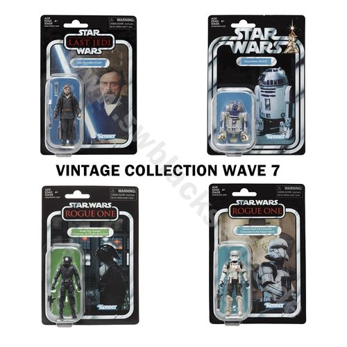 THE VINTAGE COLLECTION - WAVE 7 (4 FIGUREN) 3,75""