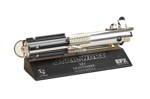 EFX REY'S LIGHTSABER HILT REPLIK / LOOT CRATE EXCLUSIVE / 13 CM