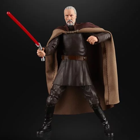 BLACK SERIES COUNT DOOKU 6""