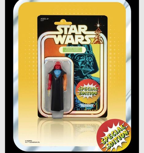 STAR WARS RETRO COLLECTION PROTOTYPE DARTH VADER SPECIAL EDITION / EE EXCLUSIVE