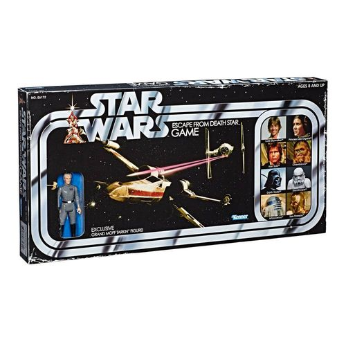 STAR WARS RETRO COLLECTION ESCAPE FROM DEATH STAR GAME + TARKIN / TARGET EXCLUSIVE