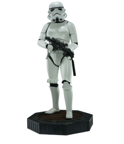 SIDESHOW STAR WARS STORMTROOPER LEGENDARY SCALE STATUE 1/2