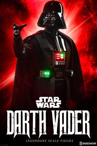 SIDESHOW STAR WARS DARTH VADER (EPISODE IV) LEGENDARY SCALE STATUE 1/2