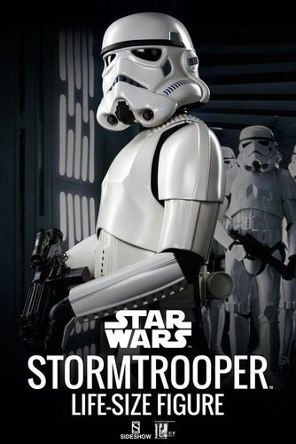 SIDESHOW STAR WARS STORMTROOPER LIFE-SIZE STATUE 1/1