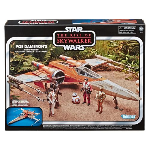 THE VINTAGE COLLECTION - POE'S X-WING FIGHTER (RISE OF SKYWALKER) 3,75""