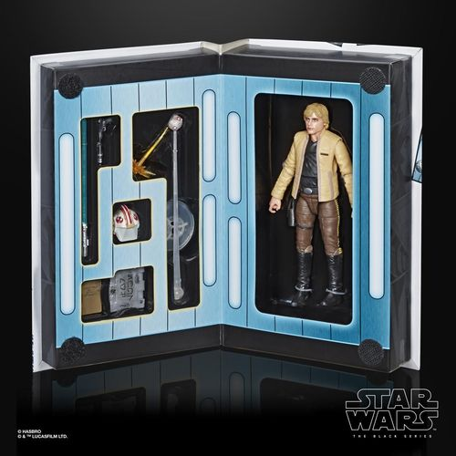 "BLACK SERIES LUKE SKYWALKER (SKYWALKER STRIKES) 6"" / CONVENTION EXCLUSIVE / WARE IM ZULAUF !"