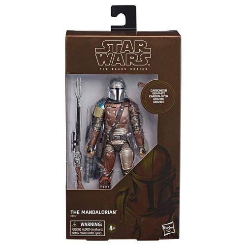 "THE MANDALORIAN CARBONIZED VERSION 6"" / TARGET EXCLUSIVE"