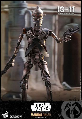 HOT TOYS STAR WARS THE MANDALORIAN - IG-11 1/6 TMS008