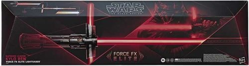 STAR WARS BLACK SERIES FORCE FX ELITE LIGHTSABER SUPREME LEADER KYLO REN 1:1