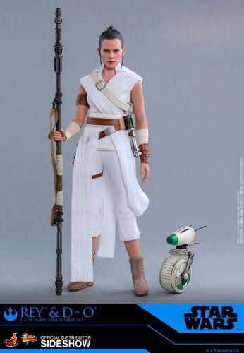 HOT TOYS STAR WARS REY + D-O (THE RISE OF SKYWALKER) 1/6