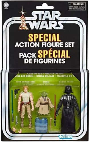 THE VINTAGE COLLECTION - CAVE OF EVIL 3-PACK / TARGET EXCLUSIVE