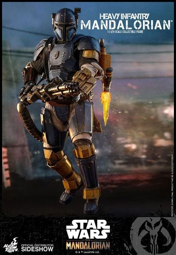 HOT TOYS STAR WARS THE MANDALORIAN - HEAVY INFANTRY MANDALORIAN 1/6 TMS010