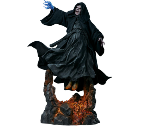 SIDESHOW STAR WARS MYTHOS DARTH SIDIOUS STATUE 1/4