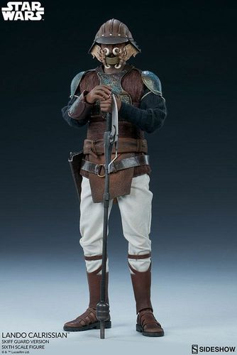 SIDESHOW STAR WARS LANDO CALRISSIAN (SKIFF GUARD) 1/6