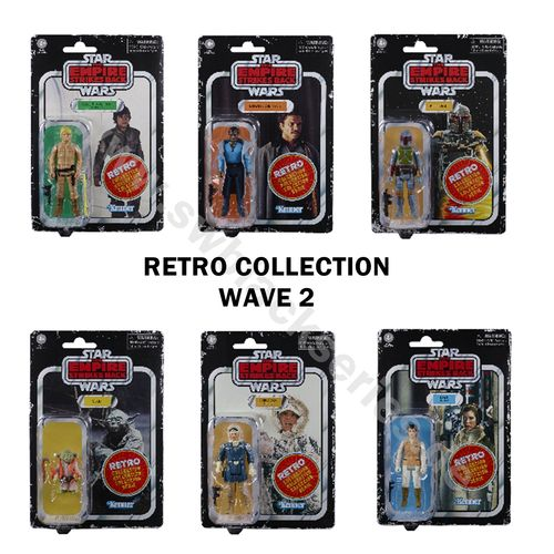 STAR WARS RETRO COLLECTION WAVE 2 (ESB) / TARGET EXCLUSIVE