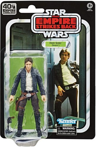 BLACK SERIES ESB 40th ANNIVERSARY HAN SOLO (BESPIN) 6""