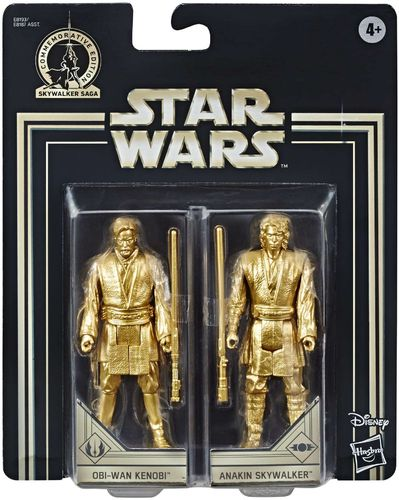 COMMEMORATIVE EDITION GOLD - OBI-WAN KENOBI + ANAKIN SKYWALKER (SET 2005)