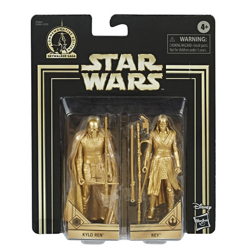 COMMEMORATIVE EDITION GOLD - KYLO REN + REY (SET 2017)