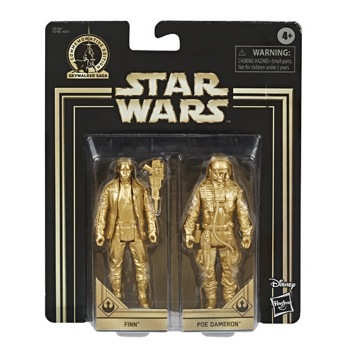 COMMEMORATIVE EDITION GOLD - FINN + POE DAMERON (SET 2015)