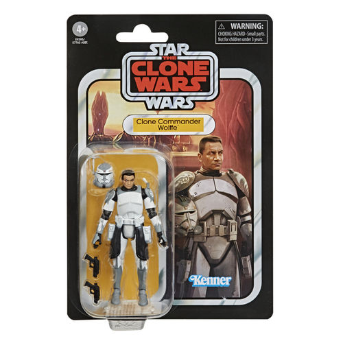 THE VINTAGE COLLECTION - CLONE COMMANDER WOLFFE 3,75""
