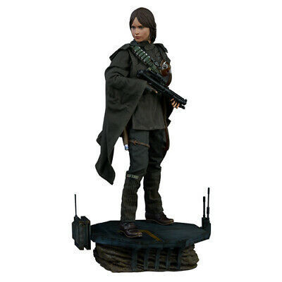 SIDESHOW STAR WARS ROGUE ONE JYN ERSO PREMIUM FORMAT STATUE 1/4