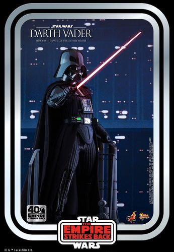 HOT TOYS STAR WARS 40th ANNIVERSARY ESB DARTH VADER 1/6  MMS572
