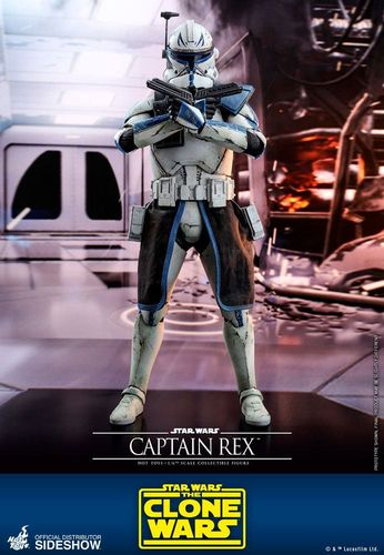 HOT TOYS STAR WARS CAPTAIN REX (THE CLONE WARS) 1/6 TMS018