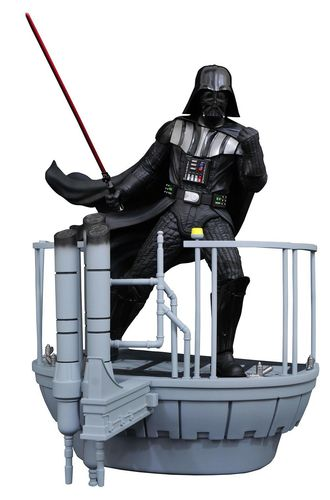 GENTLE GIANT STAR WARS EPISODE V DARTH VADER MILESTONES STATUE / 41 CM