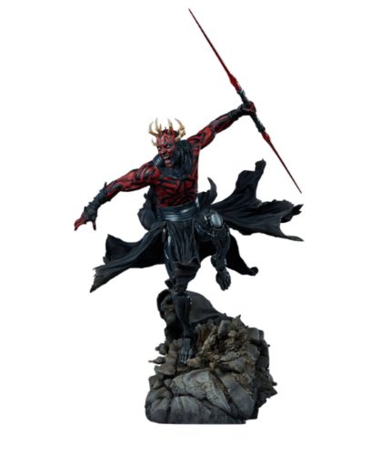SIDESHOW STAR WARS MYTHOS DARTH MAUL STATUE / 60 CM