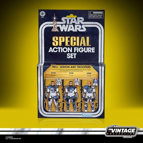 THE VINTAGE COLLECTION - 501st LEGION ARC TROOPERS 3-PACK
